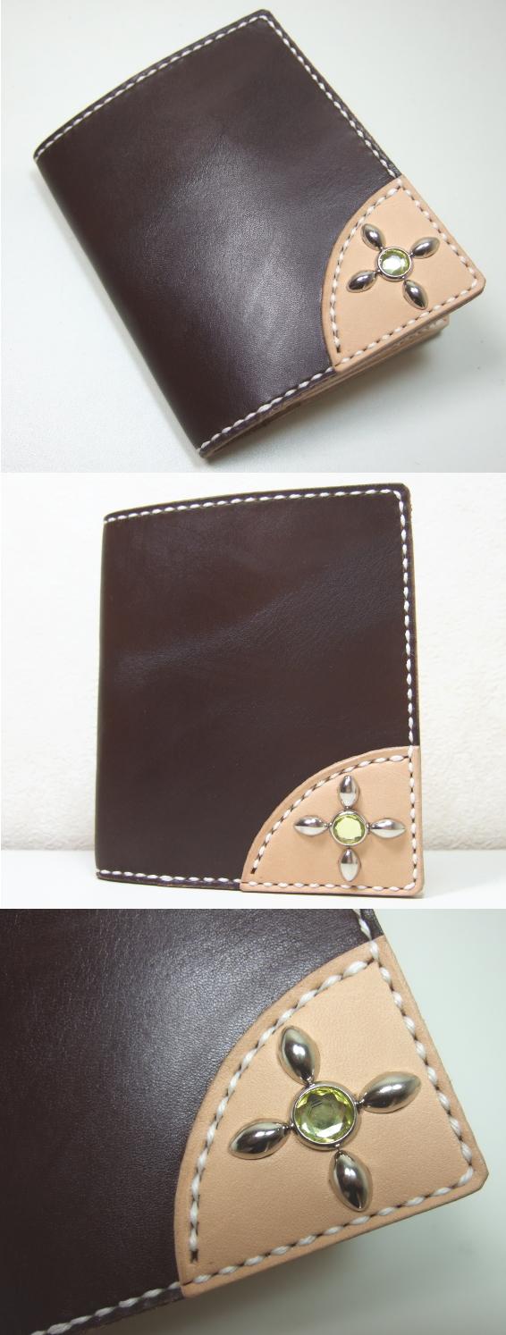革財布・二つ折り2w-013