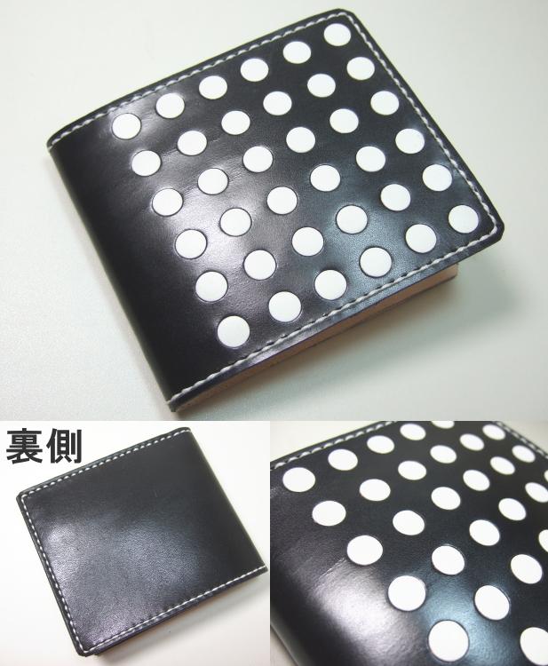 革財布・二つ折り2w-017