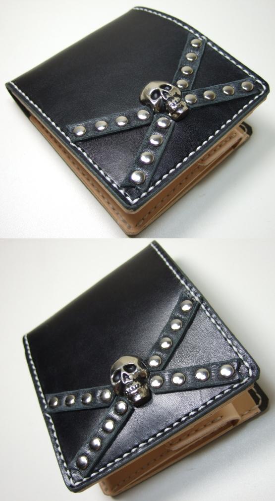 革財布・二つ折り2w-004