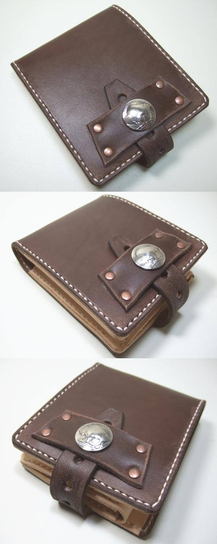 革財布・二つ折り2w-001