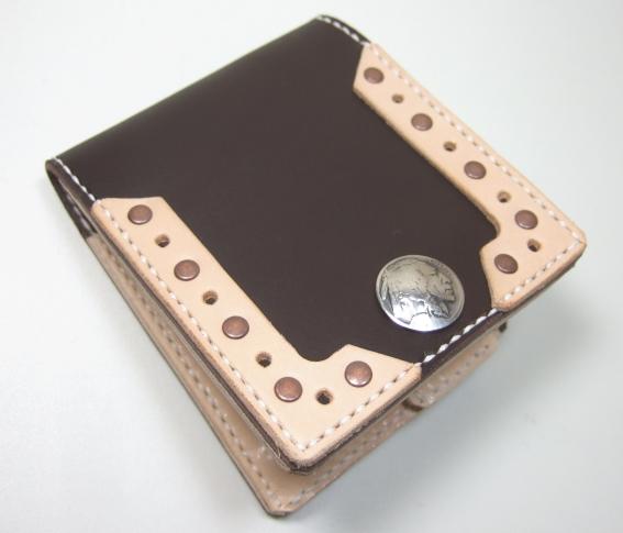 革財布・二つ折り2w-002