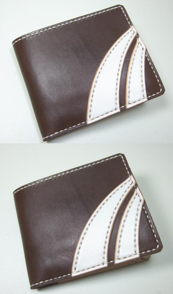 革財布・二つ折り2w-018