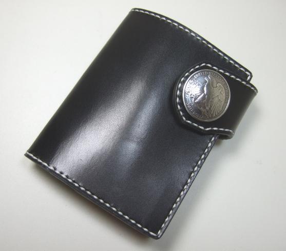革財布・二つ折り2w-021