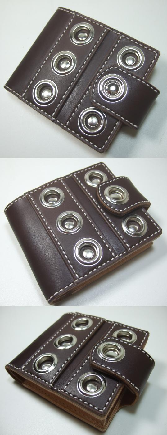 革財布・二つ折り2w-010